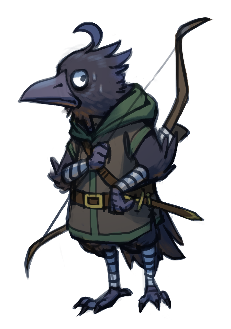 image result for kenku d d d character inspirations exotic races