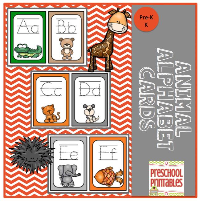 Free Alphabet Cards Preschool printables, Alphabet cards