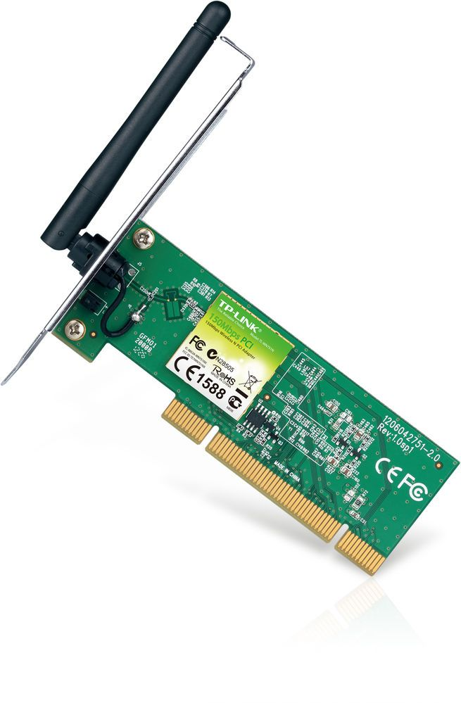 WIRELESS NETWORK ADAPTER WIFI WLAN N 150Mbps PCI TP-LINK TL-WN751ND
