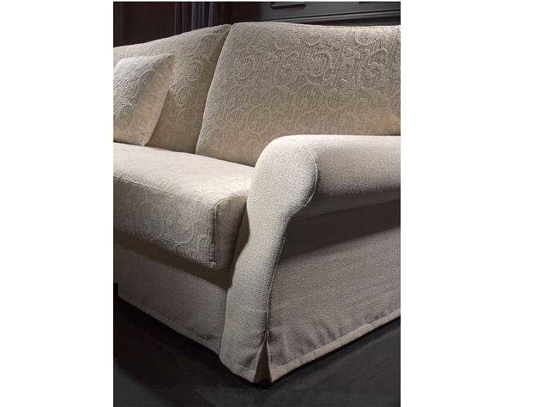 Sofá cama de alta calidad y dise±o clásico equipado con un somier