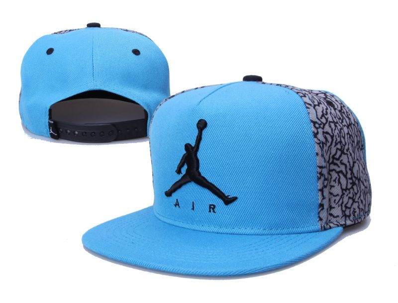 Jordan Snapback Hats Blue 153