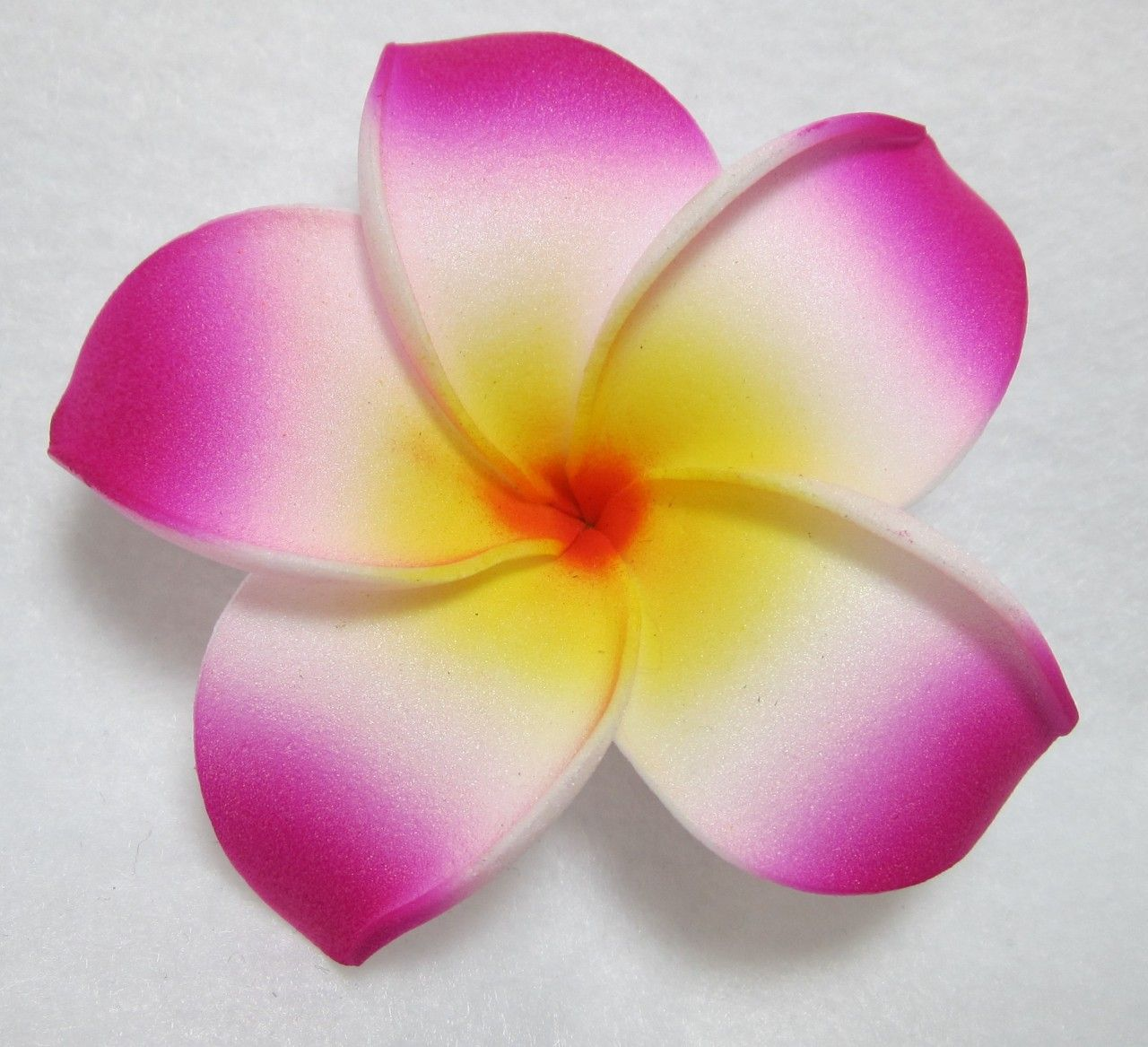 Sushi costume garnish medium pink plumeria flower hair clip my medium pink plumeria flower hair clip mightylinksfo