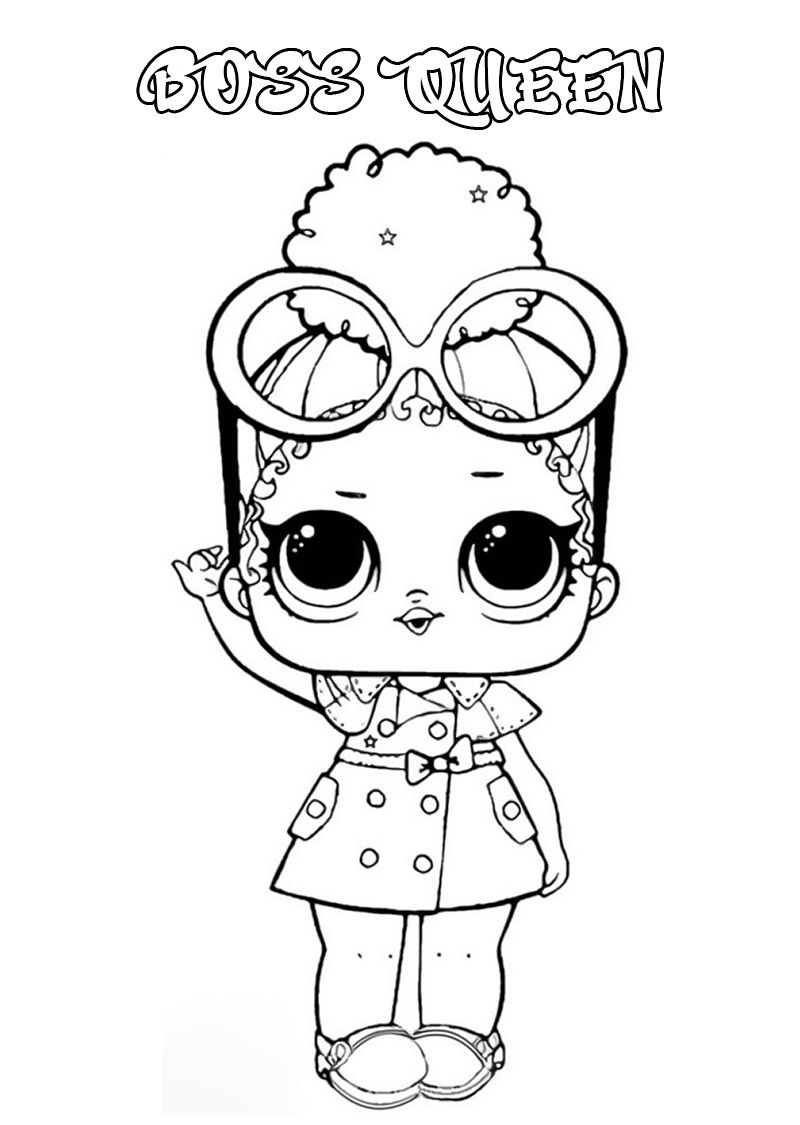 Lol Surprise Dolls Coloring Pages Print Them For Free All The Series In 2021 Coloring Pages Kids Printable Coloring Pages Superhero Dolls