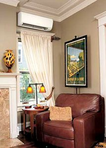 Blower Unit Above Window Ductless Heating And Air Ductless