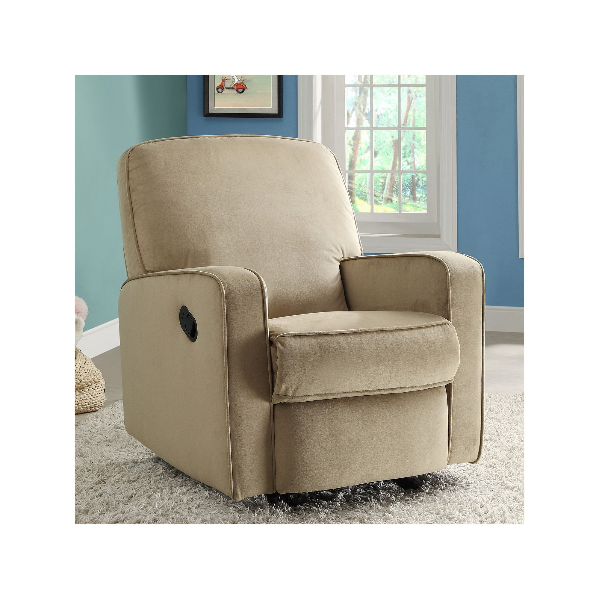 Pulaski Sutton Stella Swivel Glider Recliner Chair Other Clrs