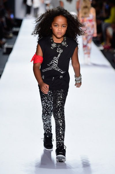 Kids Rock!- Runway - Spring 2016 New York Fashion Week: The Shows