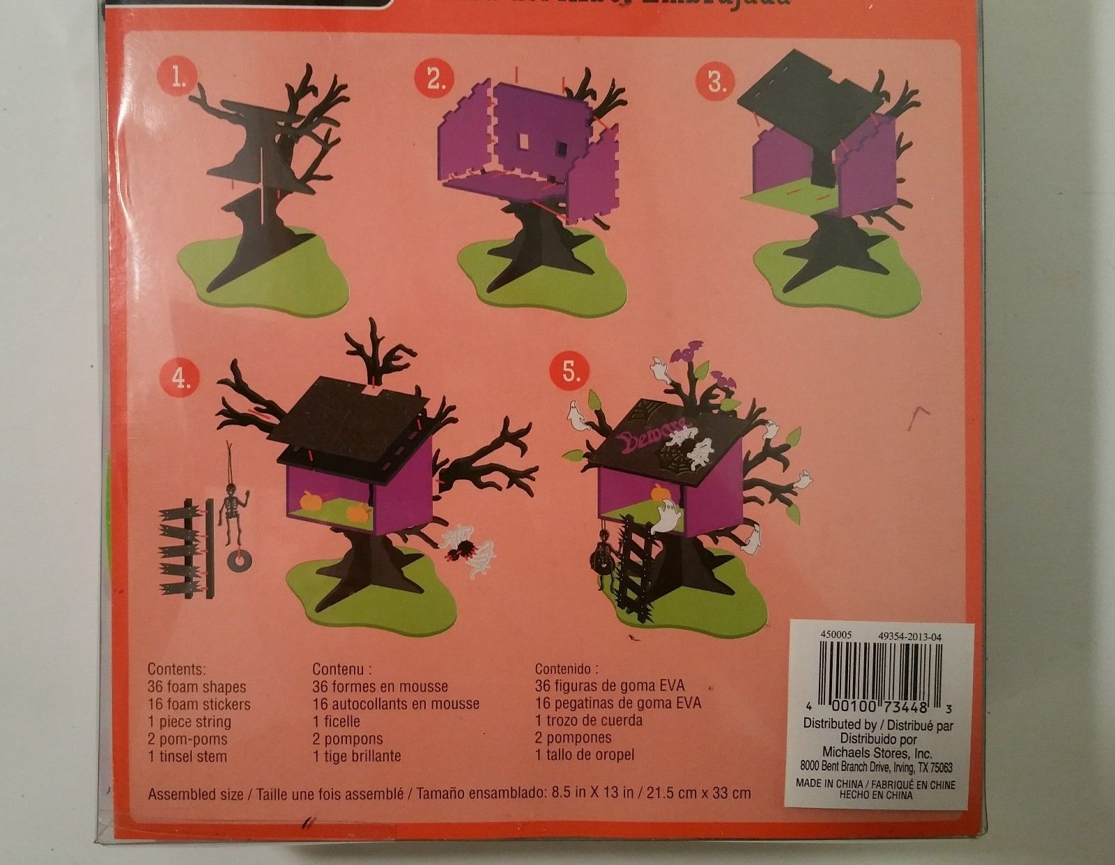 Description Halloween Foam Kit Creatology Haunted Tree House From Michaels Crafts Great For Activities By