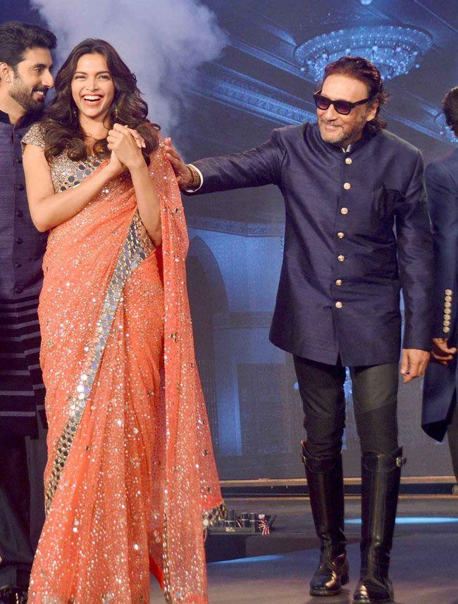 Deepika Padukone And Jackie Shroff Fashion Bollywood Actors Deepika Padukone