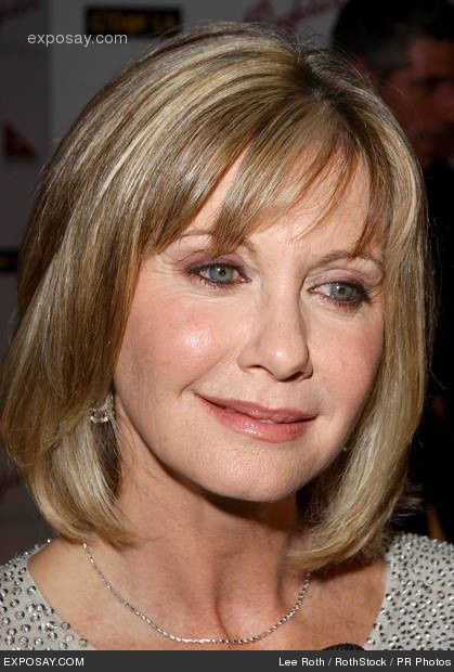 Olivia Newton John Hairstyles For Round Faces Hair Beauty Hairstyle