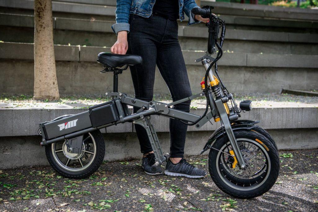 Mylo Electric Three Wheel Folding Scooter