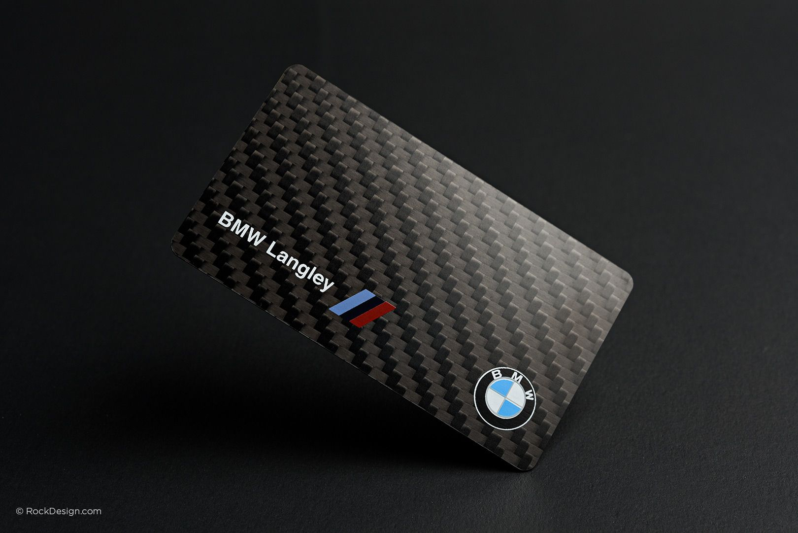 Carbon Fiber Business Card Design Img1 Business Card