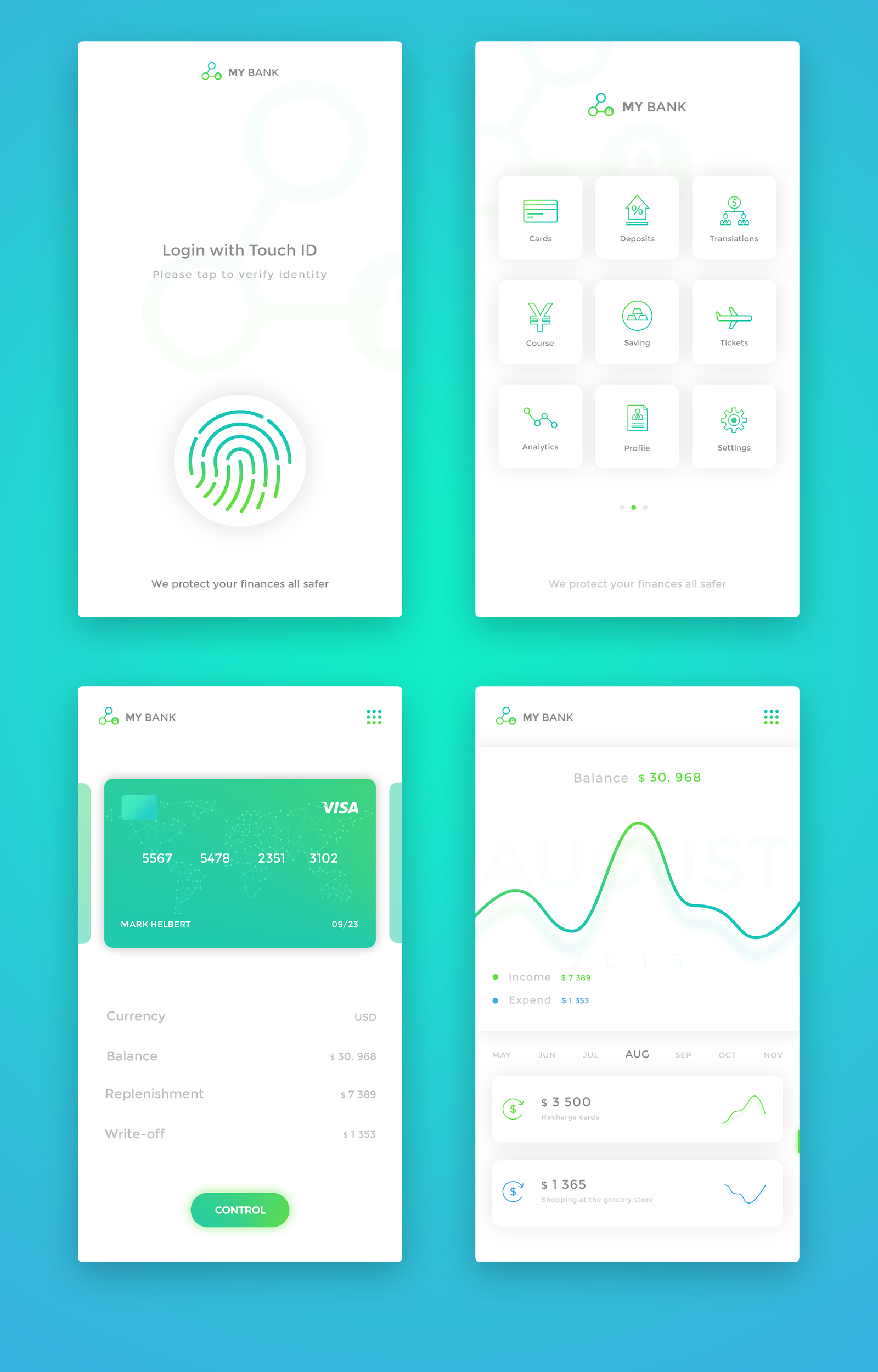 Bank2 … | Mobile analytics | Pinte…
