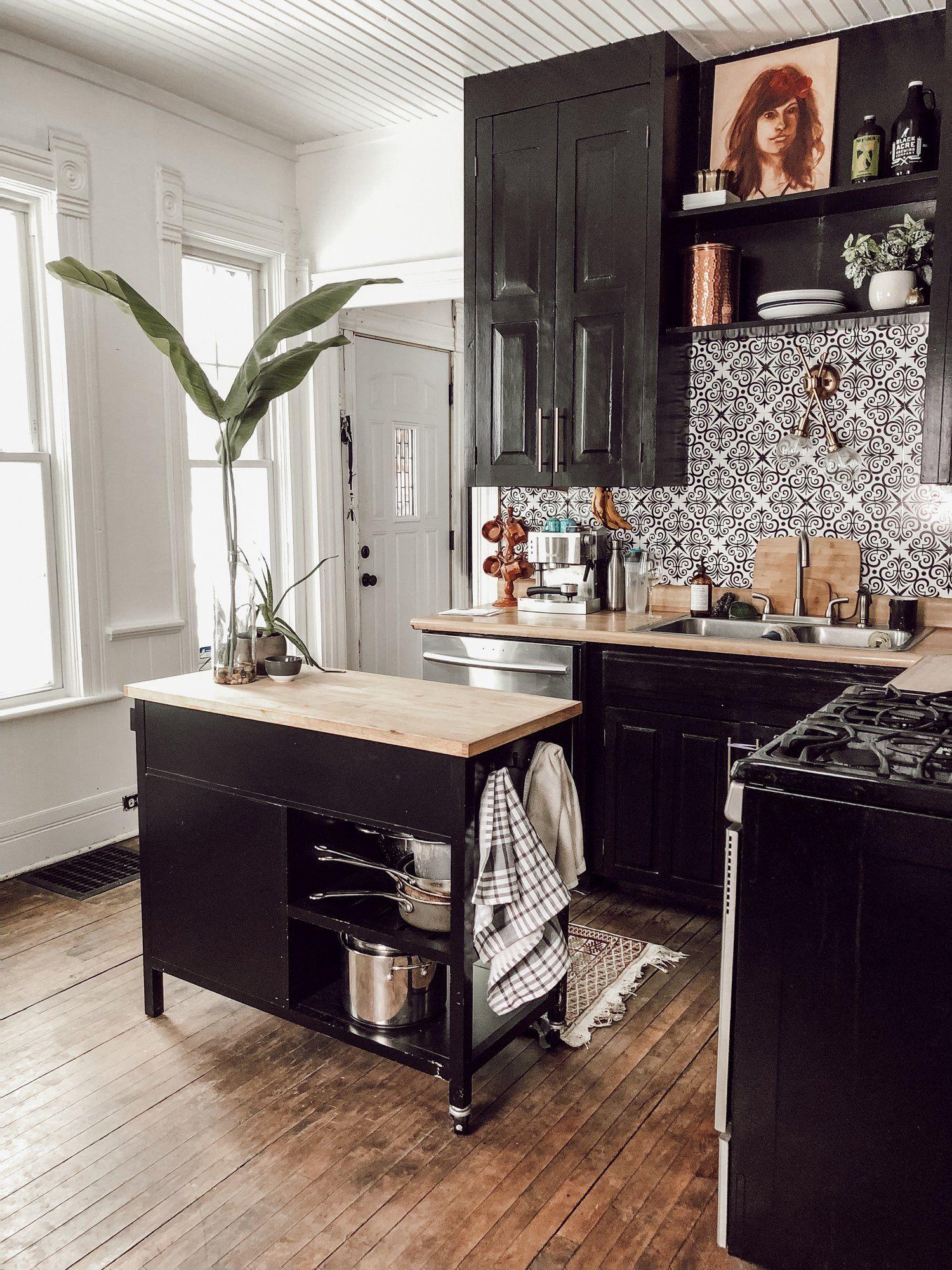 Modern Vintage Victorian House Tour Home Decor Kitchen