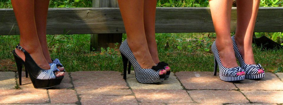 Paterned shoe♥