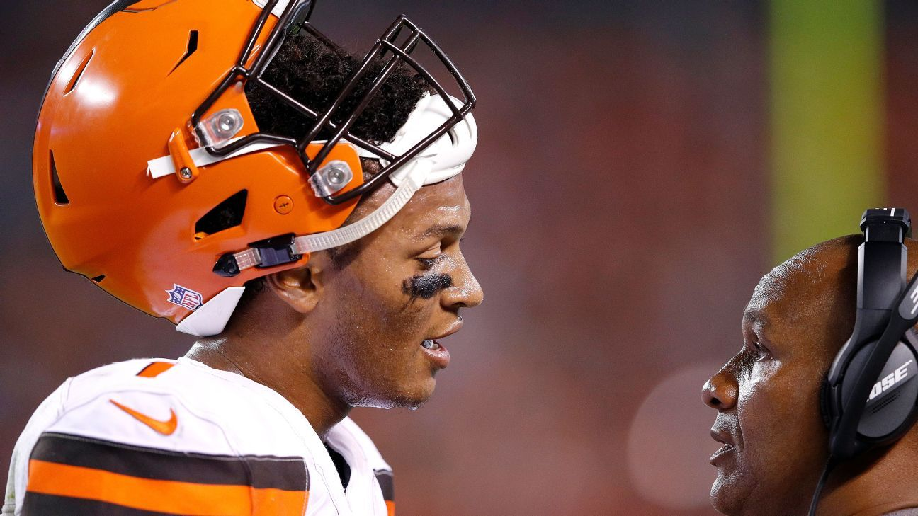 Browns hope DeShone Kizer is ready to grow on the job