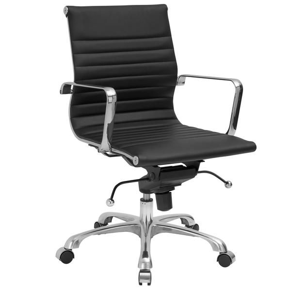 Eames Style AG Management Office Chair in Vegan Leather – Poly + Bark