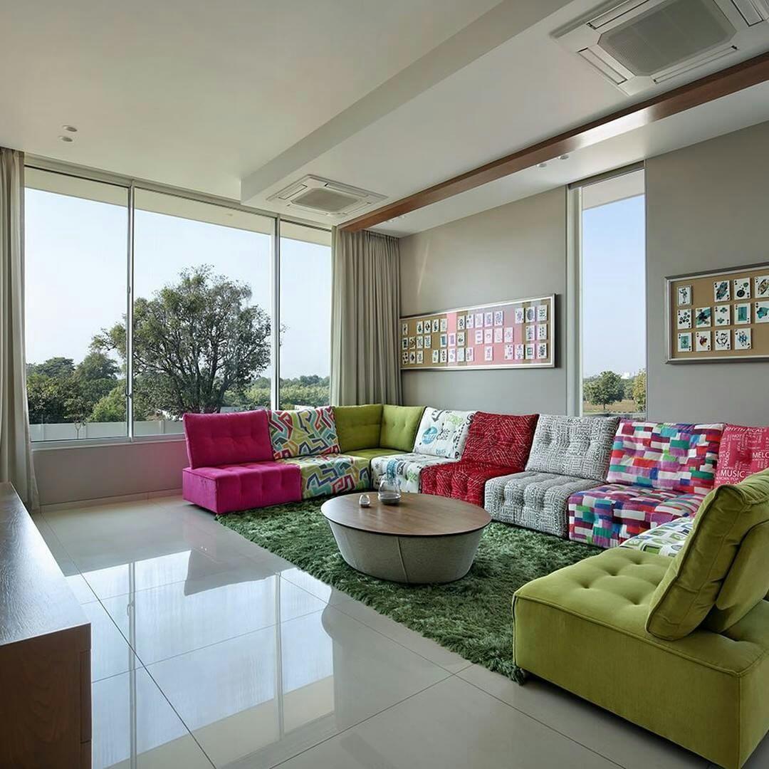 Desde La India Nos Llega Este Colorido Y Espectacular Sof Urban  # Muebles Malaga Nostrum