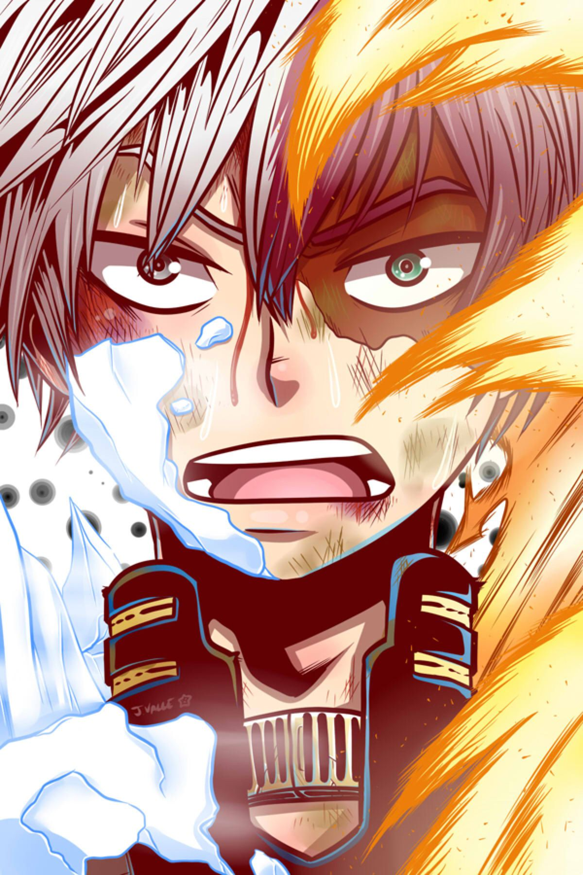 Boku no hero academia shouto todoroki by kentaropjj on deviantart boku no hero academia - Boku no hero academia shouto ...