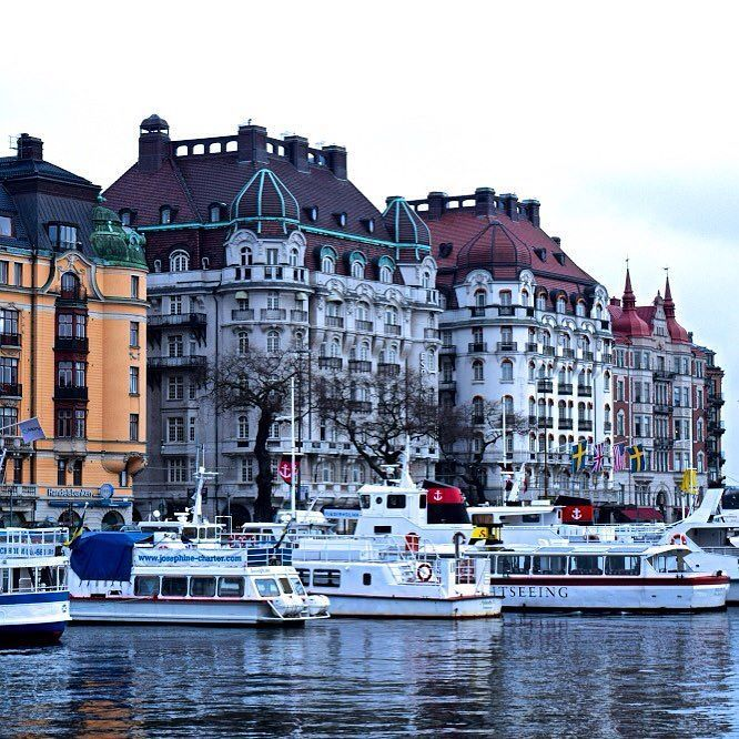 Out Of Office On Instagram One Of The Most Prestigious Addresses In Stockholm Ostermalm Strandvagen Sweden Sweden Travel Sweden Cities Scandinavia Travel