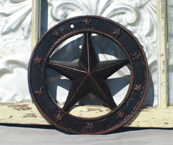 Nautical Star Wall Decor/ Texas Star Cast by MichelleLisaTreasure ...
