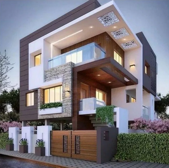 Minimalist Exterior Home Design Ideas: 43 Minimalist Exterior Home Design Ideas Fоr You