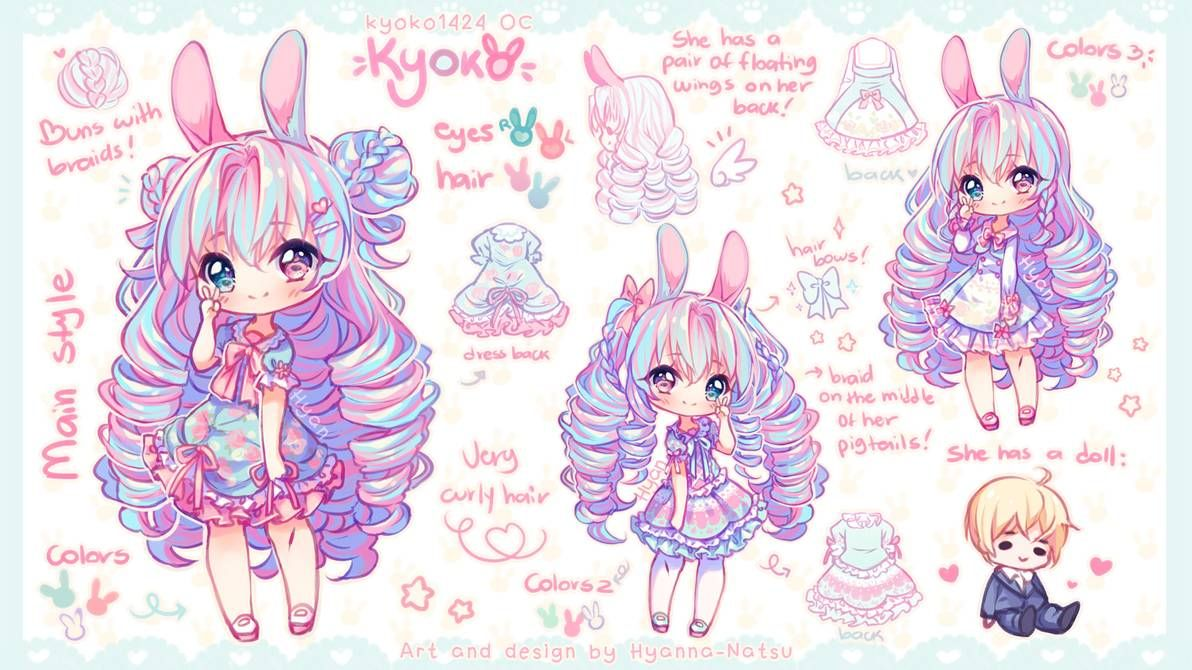 Video Commission Like Cotton Candy By Hyanna Natsu On Deviantart In 2020 Anime Character Design Cute Anime Chibi Anime Chibi