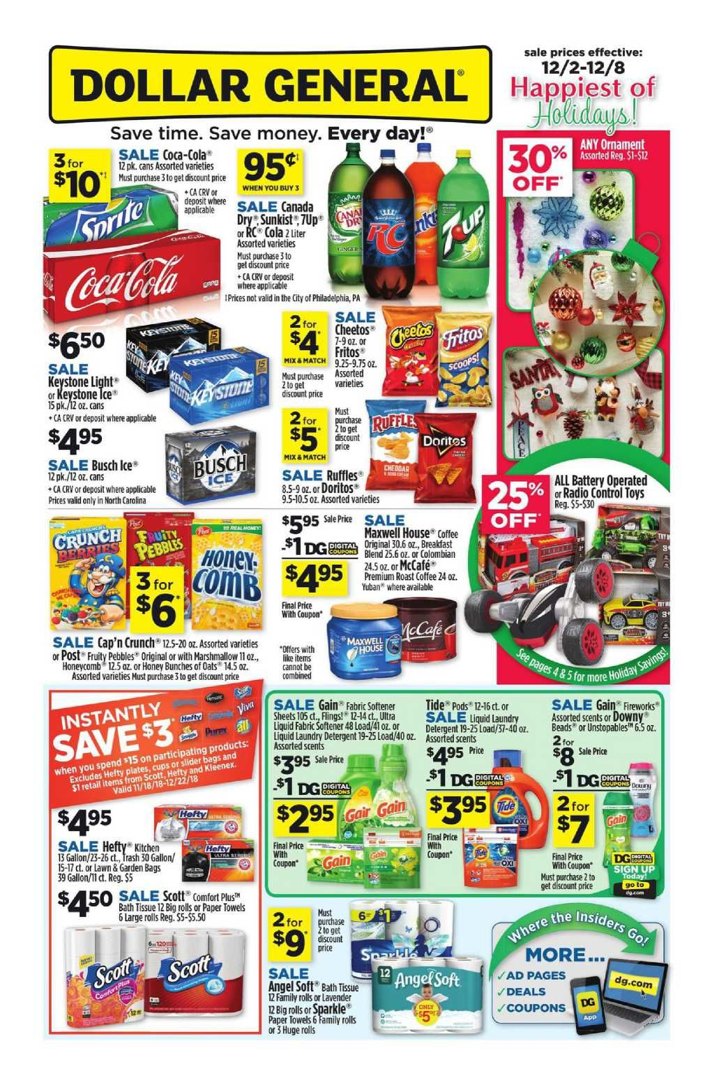 Dollar General Weekly Ad Flyer January 20 26 2019 Weekly Ads Sunday Ads Dollar Tree Ad
