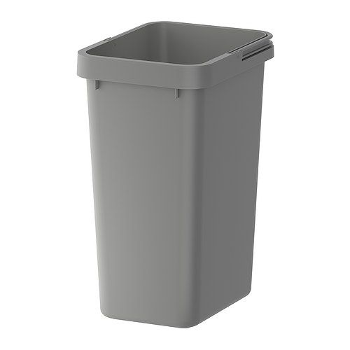 Rationell waste sorting bin ikea folding handles keep the bin liner in place and make the bin - Collapsible trash bins ...