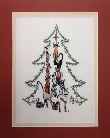 Embroidery Designs Christmas Cat Embroidery Christmas Applique Holiday Embroidery Holida Christmas Embroidery Designs Holiday Embroidery Christmas Applique