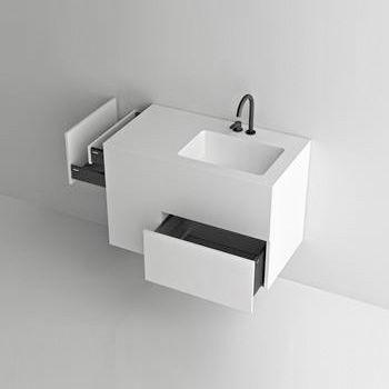Boffi Quadtwo Washbasin With Vanity Unit Wrqtmb01d Vanity Units Wash Basin Small Toilet