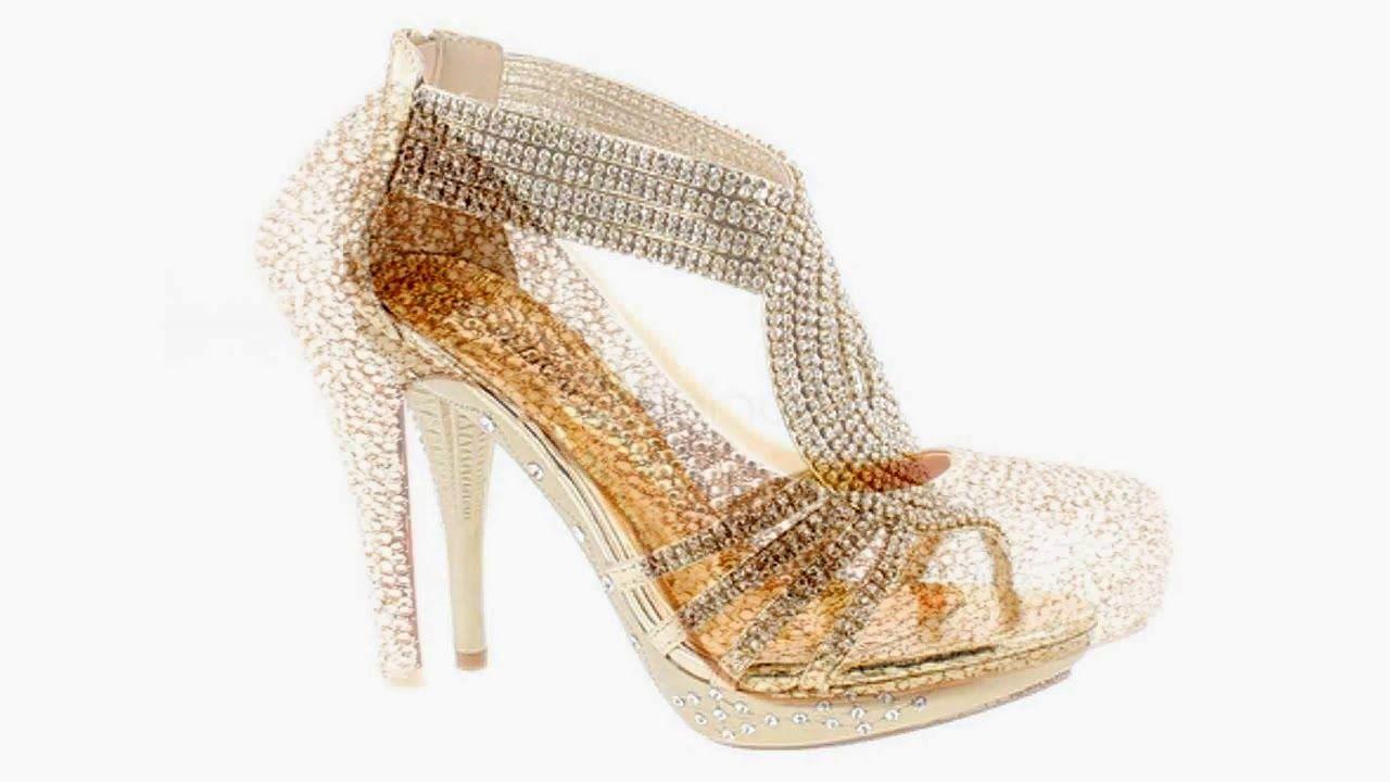 9b54f08c983 Latest Bridal Footwear Dulhan Footwear Bridal Footwear High Heel Sandal9