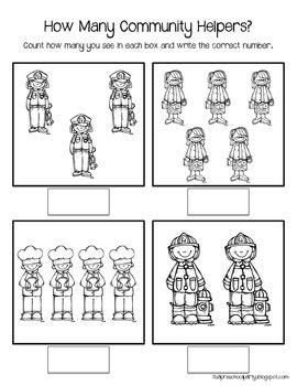 community helpers worksheets for preschoolers | Community Helpers ...