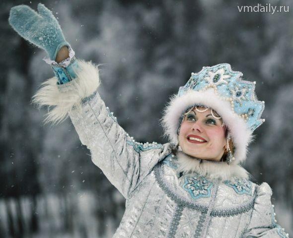 снегурочка фотосессия