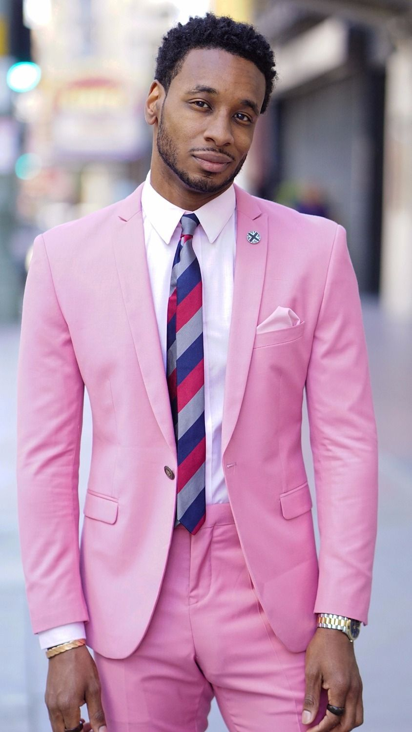 Latest Coat Pant Designs Pink Casual Custom Beach Summer Groom ...
