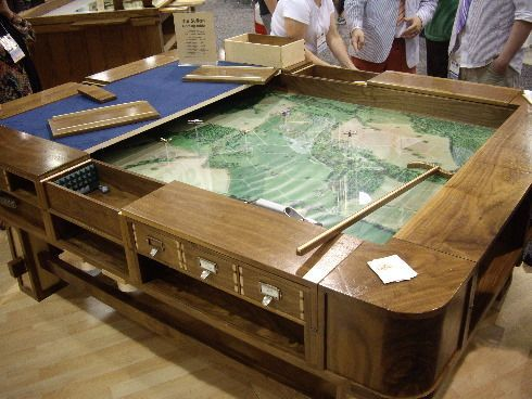 The Steampunk Home: Steampunk Chic Gaming Tables
