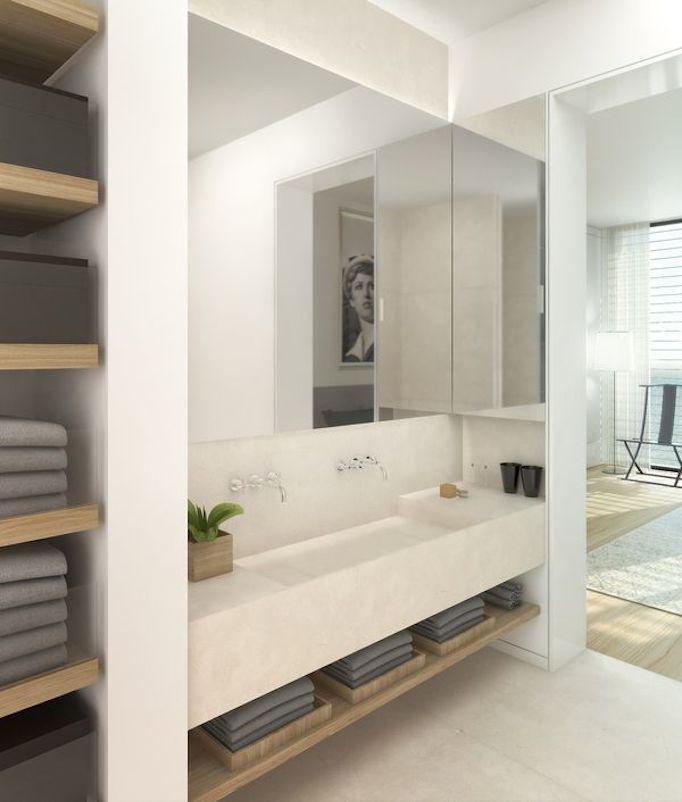 Superb Bathroom Trends   Floating Vanities