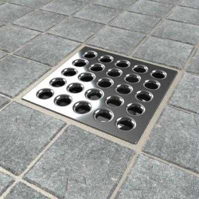 Perfect Ebbe E4401 Square Shower Drain Grate