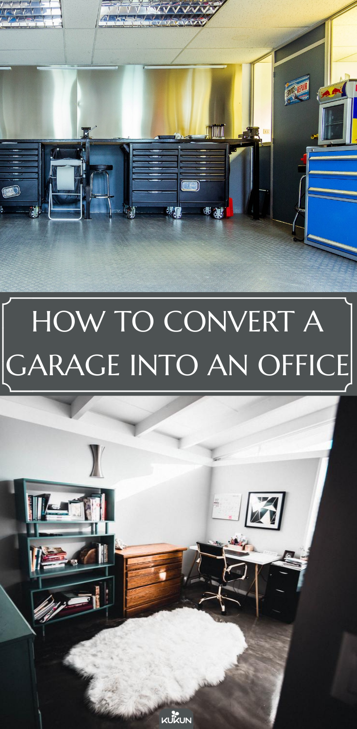 How To Convert A Garage Into An Office Conversion Ideas E Home Converting
