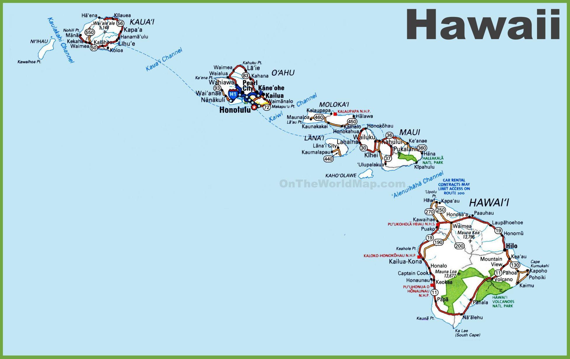 Fresh World Map Hawaii 9 Hawaii Hawaii Map Map Of Hawaii