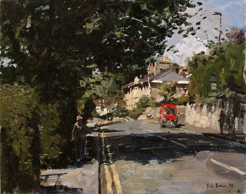 Another painting of Bath by Peter Brown - this little corner of Bath holds many fond memories!