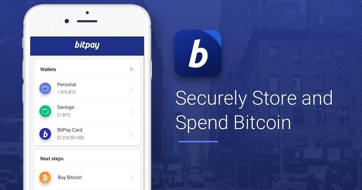International Payment Options BitPay Bitcoin wallet