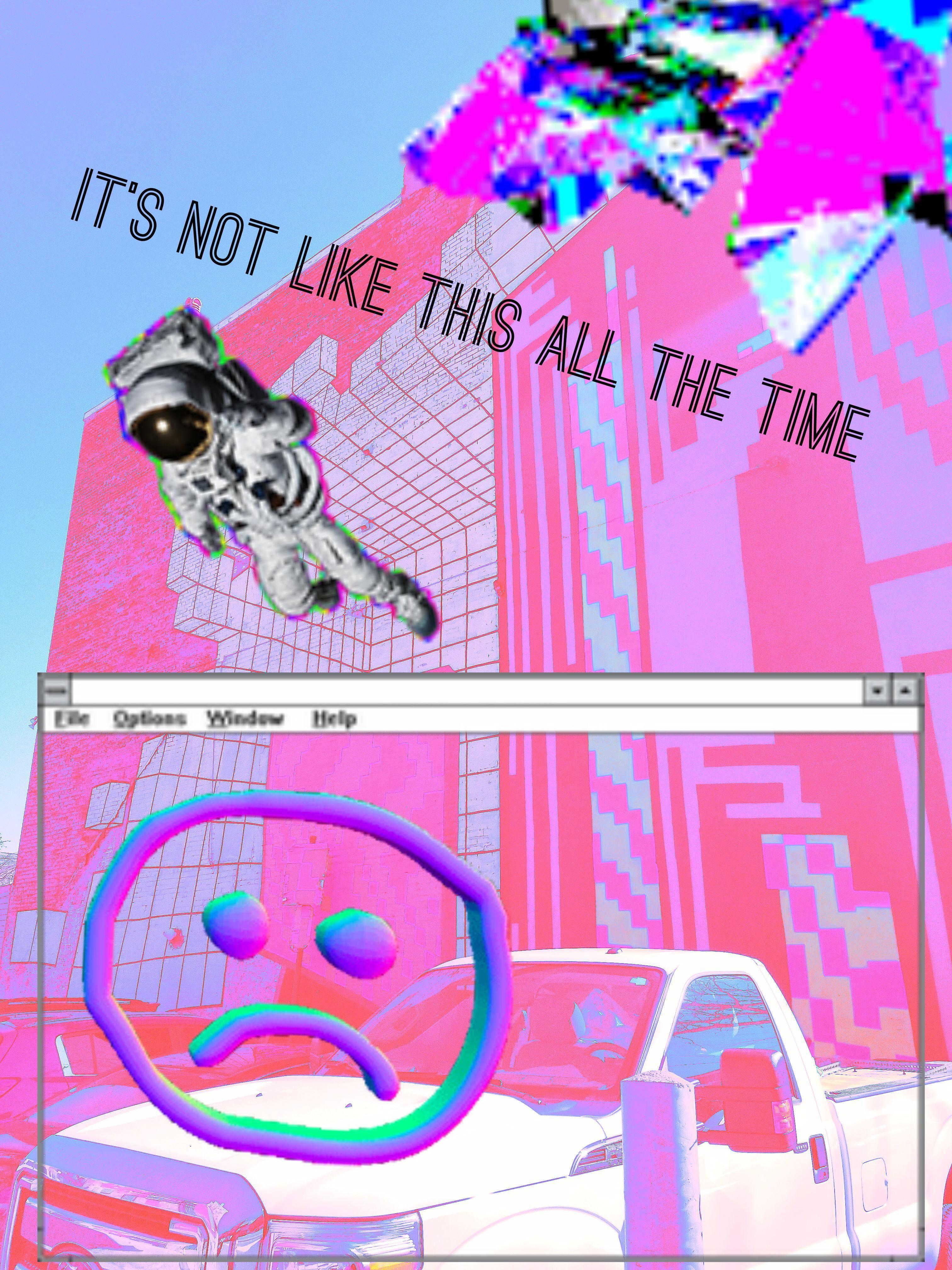 Art Therapy Vhs 90s Analog Nostalgic Cyberpunk Surrealism