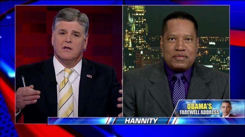 Image result for IMAGES OF LARRY ELDER AND SEAN HANNITY