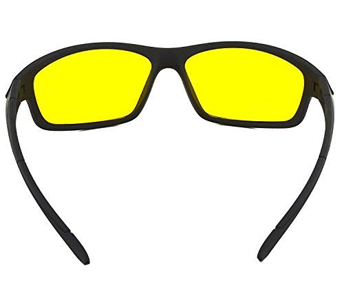 2f8a03b20c13 LUMONY Unisex Day and Night HD Vision Anti-Glare UV Protected Polarized  Sunglass for Car Drivers