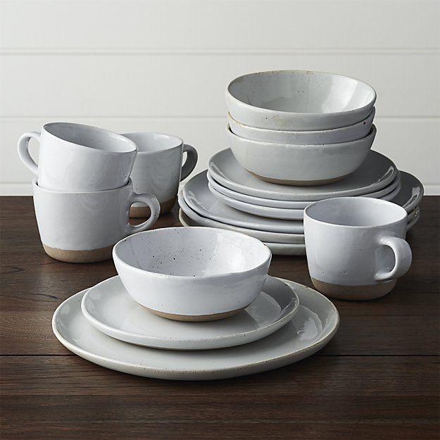 Welcome II 16-Piece Dinnerware Set   White dinnerware ...