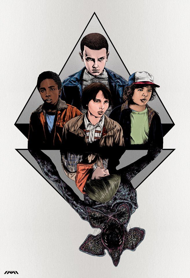 Stranger Things by Half-Human