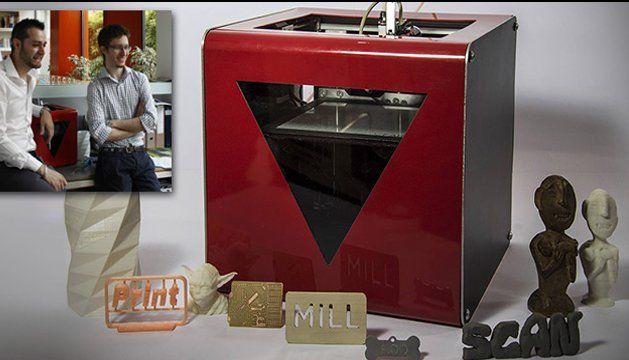 Stampante 3D tuttofare nata dal crowdfunding - factotum
