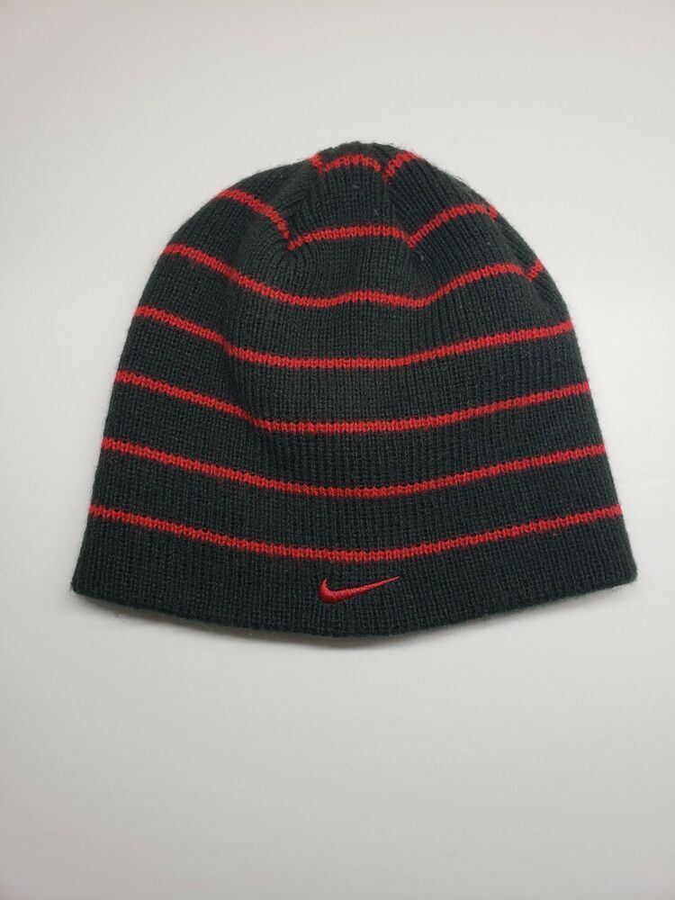 Nike Beanie hat Red And Black  fashion  clothing  shoes  accessories   kidsclothingshoesaccs  boysaccessories (ebay link) bd8662d27bc