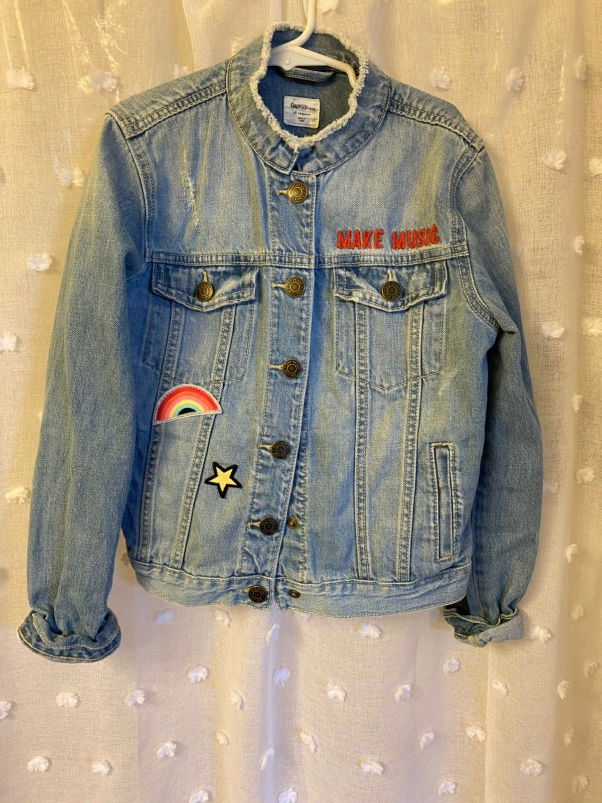 Jean Jacket Kids Denim Jacket Jackets Denim Jacket Patches [ 1600 x 1200 Pixel ]