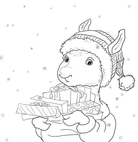 Llama Llama Holiday Drama Coloring Page Free Printable Coloring Pages Coloring Pages Free Printable Coloring Pages Coloring Pages For Kids